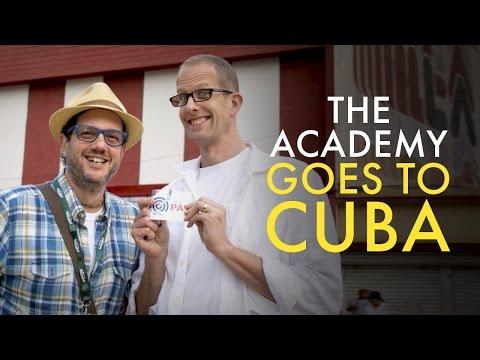 Academy Close-Up: International Outreach In Cuba