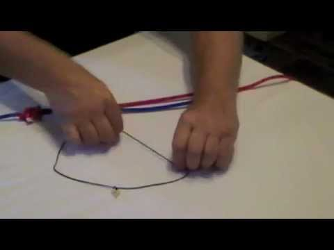 How to tie a Jewellery Knot or Adjustable Knot