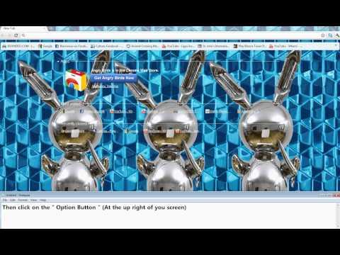 Change Your Background Google Chrome Image