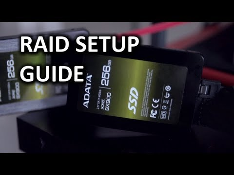 Intel RAID Setup Guide