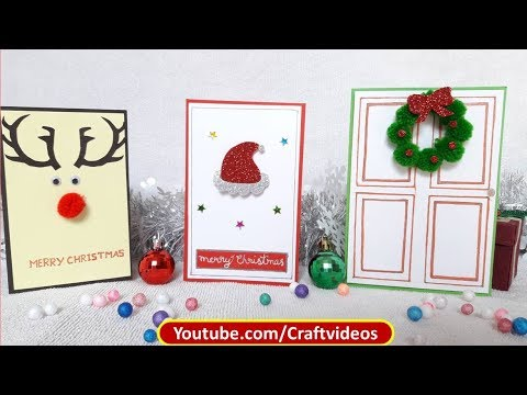 3 Easy DIY Christmas Cards