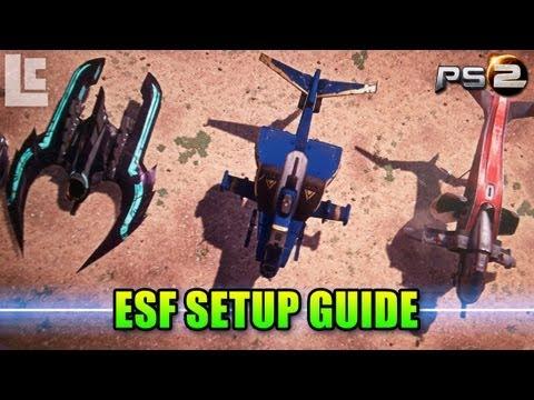 Scythe Reaver Mosquito Setup Guide (Planetside 2 Gameplay/Commentary/ESF)