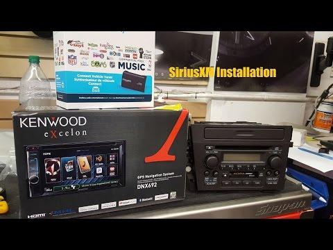 SiriusXM Tuner Module Installation (Kenwood head unit)
