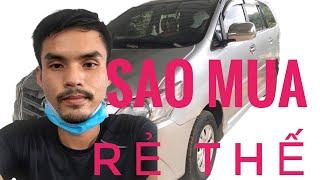 Vlog đi mua ô tô cũ rẻ như cho TOYOTA INNOVA Phom 2015 .180tr