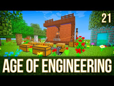 Tree Breeding & Auto Miner | Age of Engineering | Episode 21