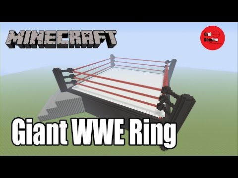 Minecraft Giant WWE Ring