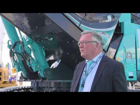 Intermat 2018: Kobelco demolition industry launch