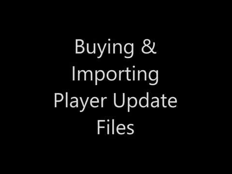 Buying & Importing Player Update files - Version 2