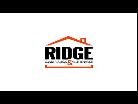 Ridge Construction Logo Animation