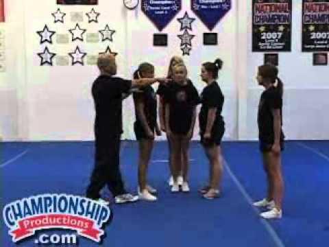 Advanced Stunts, Volume 10 Cheerleading Stunts Video