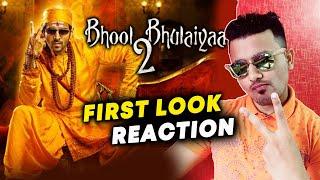 Bhool Bhulaiyaa 2 First Look Poster Review | Reaction | Kartik Aaryan