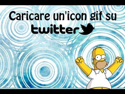 Tutorial - Mettere un'icon gif su Twitter