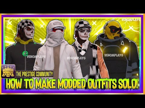GTA 5 Online 1.43 - NEW (SICK) MODDED JUGGERNAUT TRON Outfit Glitch, CHECKERED, More! (Best Outfits)