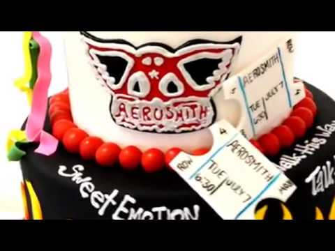 How to make cake Rock and Roll Theme Cake Example