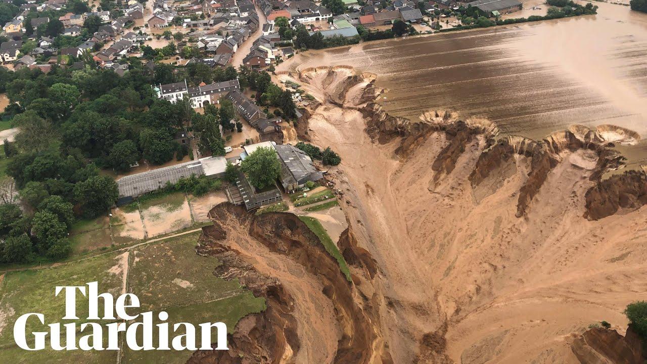 Flash floods cause havoc in Europe