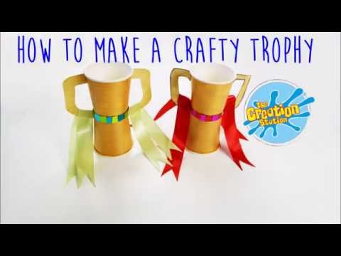How To Make A Children's Crafty Trophy