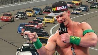 HIS NAME IS... Um... Uhhhh... (Daytona 500 - John Cena)