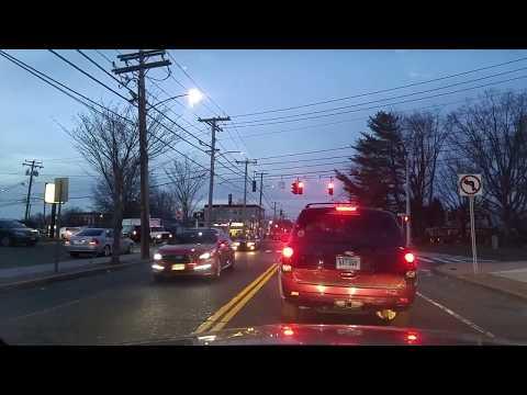 Driving by Bridgeport,Connecticut