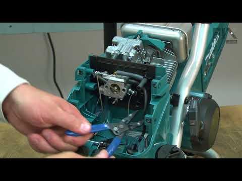 Makita Cut-Off Saw Repair - How to Replace the Carburetor