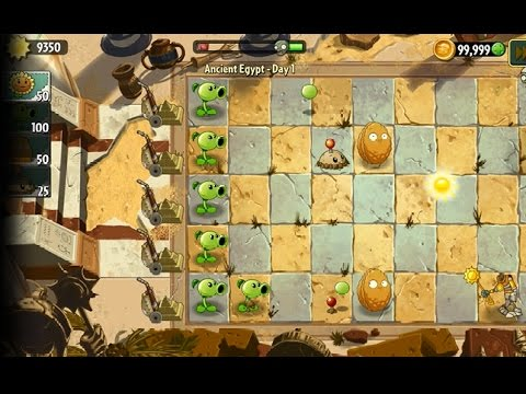 How to CHEAT PLANTS VS. ZOMBIES 2 Sun and Coins
