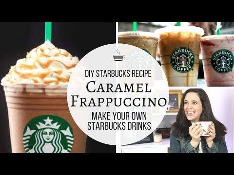 DIY Starbucks Recipe // DIY Caramel Frappuccino Recipe // Save Money At Starbucks