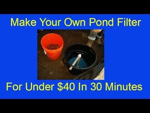 DIY Koi Pond Filter For Under $40