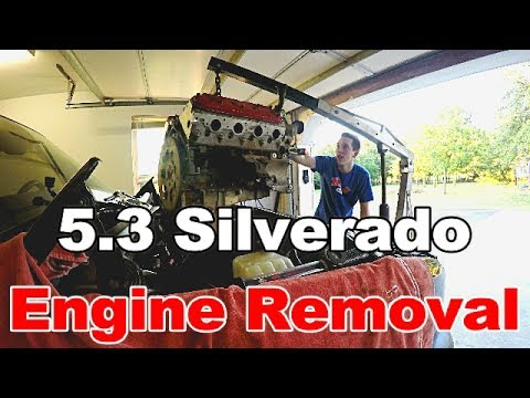 LS 5.3 Silverado Engine Removal and Rebuild (Surprise for 500 hp coming!)