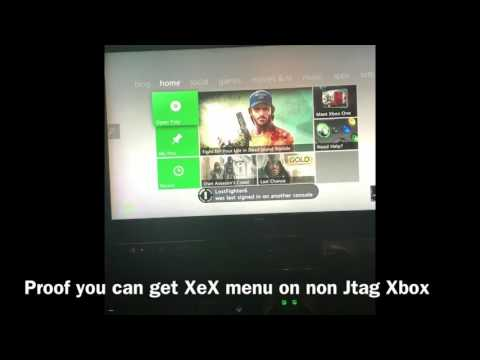 XeX menu on retail Xbox 360 slim (no rgh/jtag)