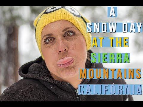 A Snow Day - Sierra Mountains California