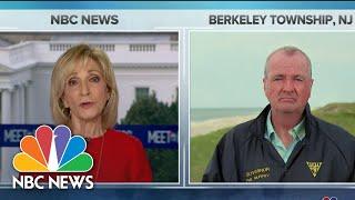 Full Murphy: National Mask Requirement 'Not Debatable'   Meet The Press   NBC News