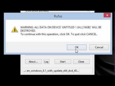 How to to create Windows 8.1 bootable UEFI USB flash drive