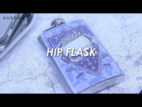 Hip Flask - Design Your Own