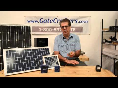 Solar Charge Controllers and Gate Openers