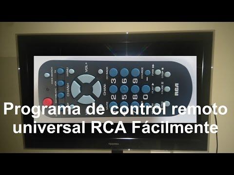 Cómo programar RCA universal Remotre RCR504BR para TV  con subtítulos en español