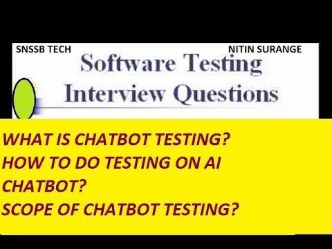 Why we do CHATBOT TESTING?| CHATBOT Application Testing|BOTIUM