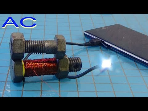 Mobile battery charger circuit without transformer, used to light the super bright Led  TIPS TO KNOW