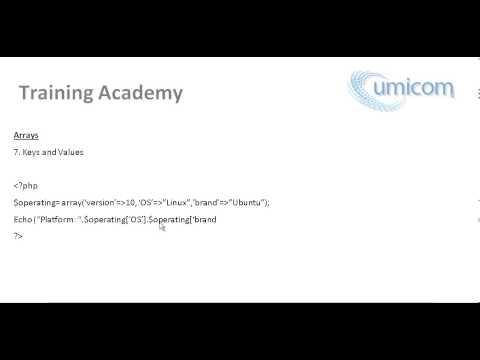 Part 37: Learning Programming (PHP Web Development) - Keys and Values Array - Associative Array
