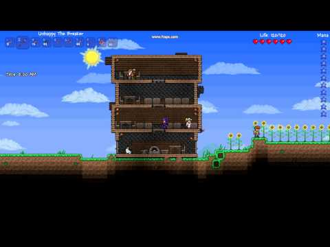 NONHAMACHI TERRARIA SERVER FOT 1.1