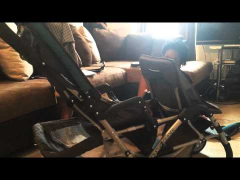 Graco DuoGlider Dragonfly Double Stroller put together