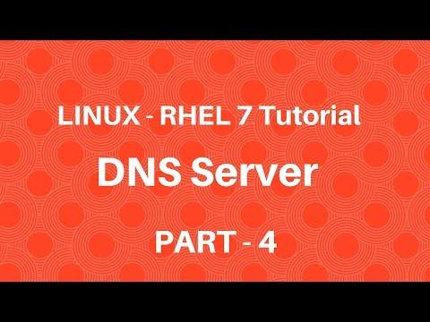 Linux in Hindi - RHEL 7 - DNS Server - Part 4 - Seven Layer Technologies