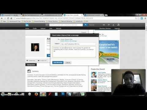 HOW TO: Grow Your LinkedIn Network VERY FAST (LION)