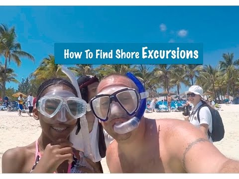 How To Find CRUISE SHORE EXCURSIONS!