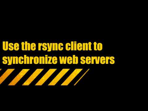 Learning SUSE Linux Lesson 22 Rsync Server