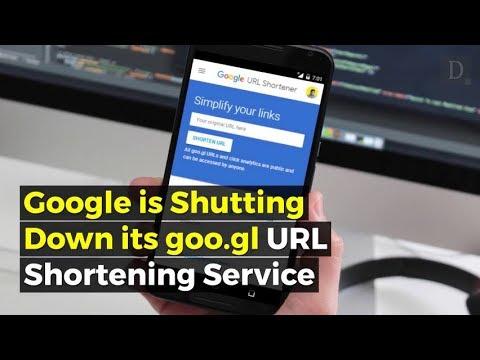 Google shutting down goo.gl URL shortener next year, existing links will keep working
