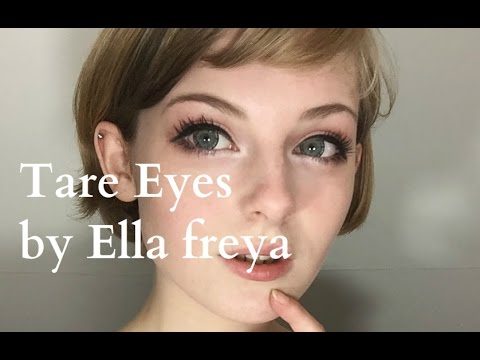 Cute and 'tare (droopy)' eyes tutorial ☆彡