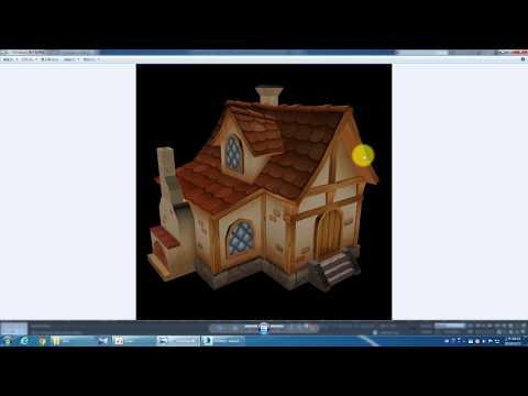 [KM 3ds Max 教學] Low Poly House 低面數房屋製作 Part 1