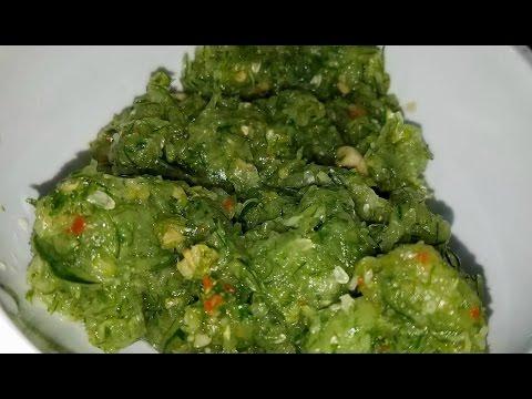 Cucumber Chutney for Doubles: Taste of Trini