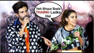Sara Ali Khan Makes FUN Of Ex-Boyfriend Kartik Aryan For FLIRTING Wid Ananya Panday In Front Of Medi