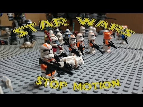Star Wars - Stop Motion Lego