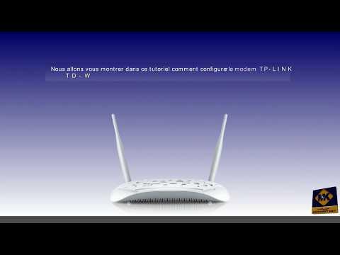 Configuration du modem TP-LINK TD-W8968 - Français